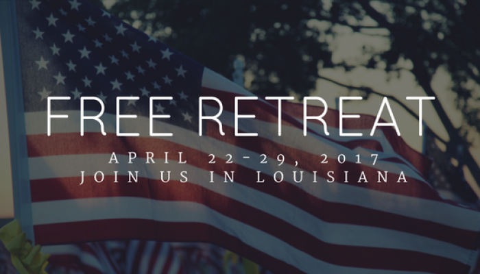 Join USA Re-Boot Resort for a FREE retreat in Louisiana!